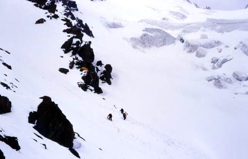 Camp1 on NE couloir,4300m