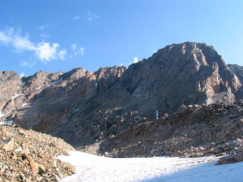 SW aspect Granite Peak