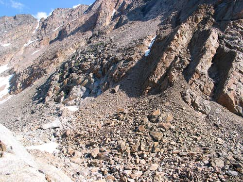 Cairn Mtn./Granite Peak saddle