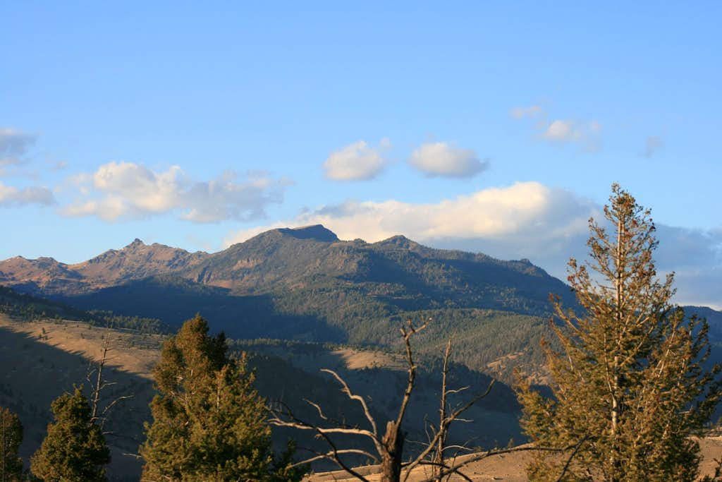 Mount Everts from Rattlesnake Butte
