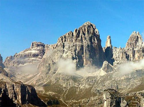 Cima Brenta Alta (2960m) and...