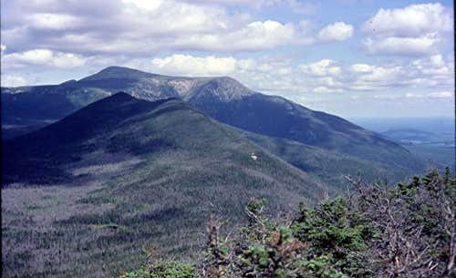 Katahdin is sighted to the...