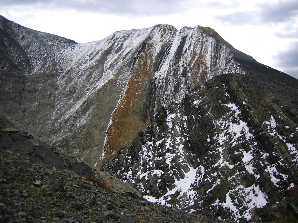 COR from lower ridge