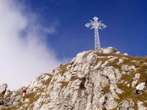 The summit of Mount Giewont