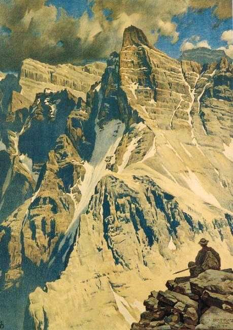 Kaltwasserkarspitze (2733 m),...