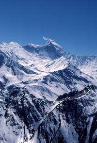Annapurna 1 from near high camp