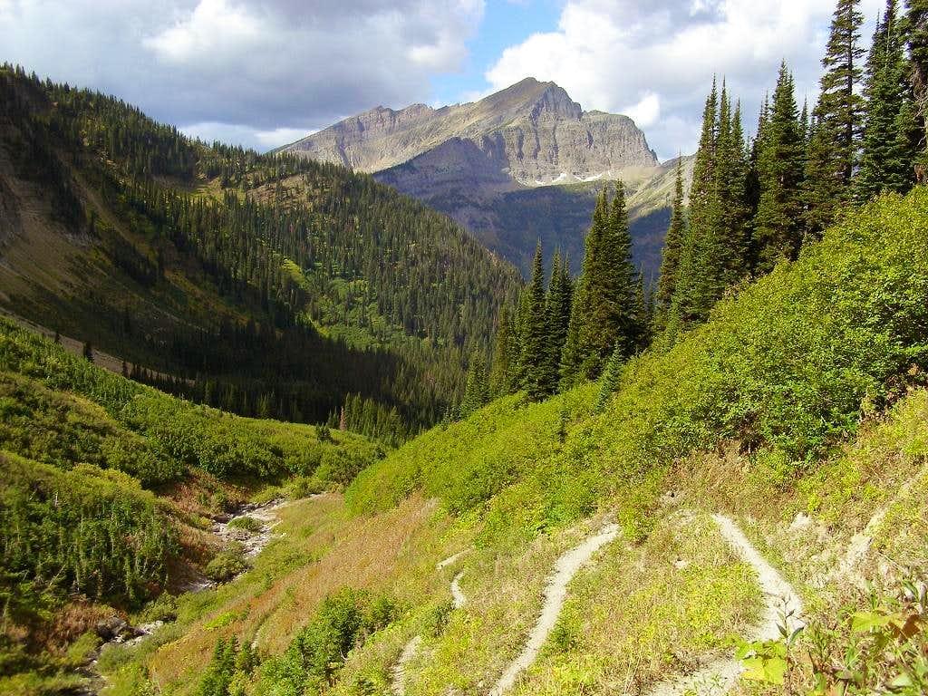 Stoney Indian Pass Trail and Kootenai Peak