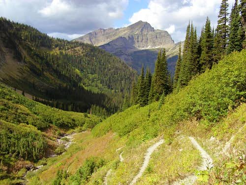 Stoney Indian Pass Trail and Kootenai Peak
