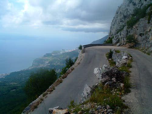 Biokovo road