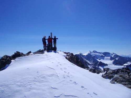 The Summit with perfect weather