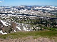 Alaska Basin from Table Rock