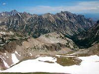Cascade Canyon to  Mt. Moran