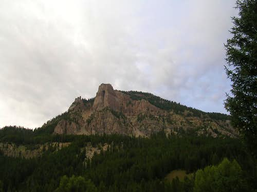 From Granite Creek Campground