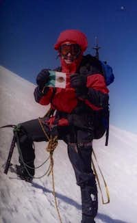 Orizaba ascent December'00