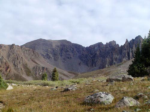 Basin south of La Plata