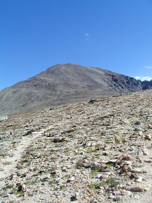 Ridge at 13200 feet