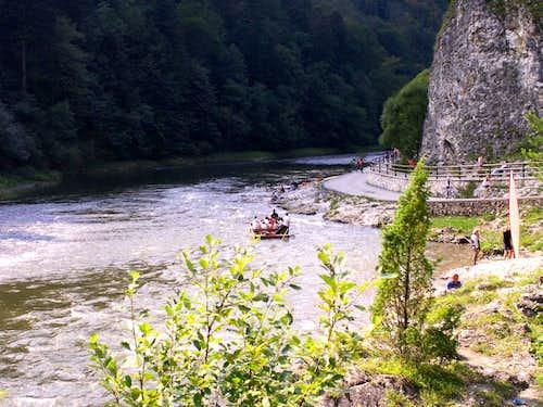 Rafting near...