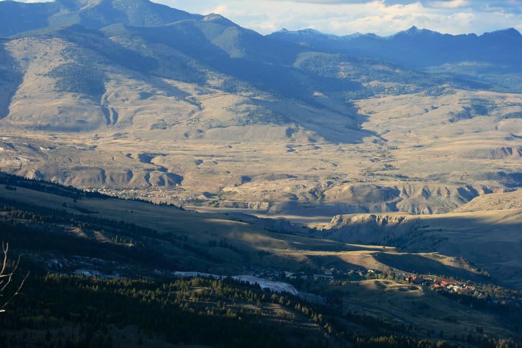 View from Bunsen Peak Summit