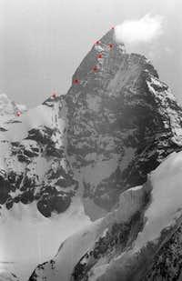 Matterhorn: Zmuttgrat