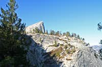First View of Half Dome