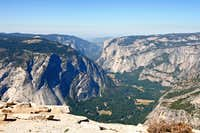 Yosemite Valley from H-Dome