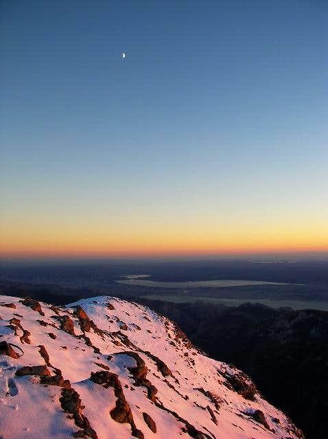 On the ridge of Viserujna...