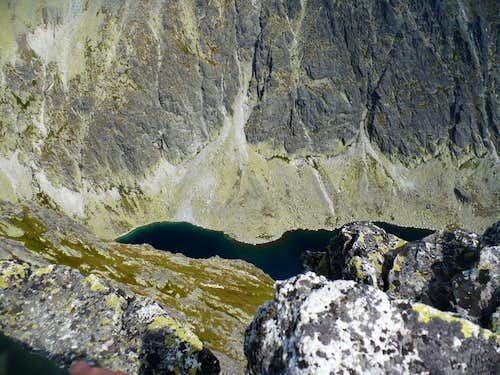 Krivanske green lake (2013 m)