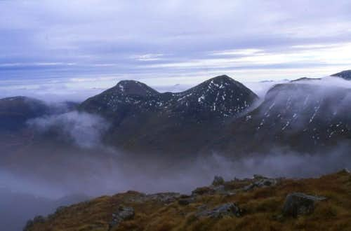 The Buachaille,from Stob Dubh.