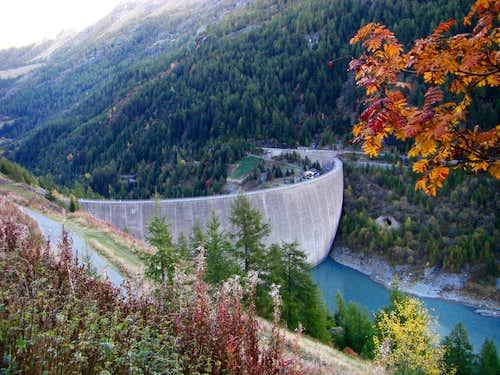 Beauregard's dam