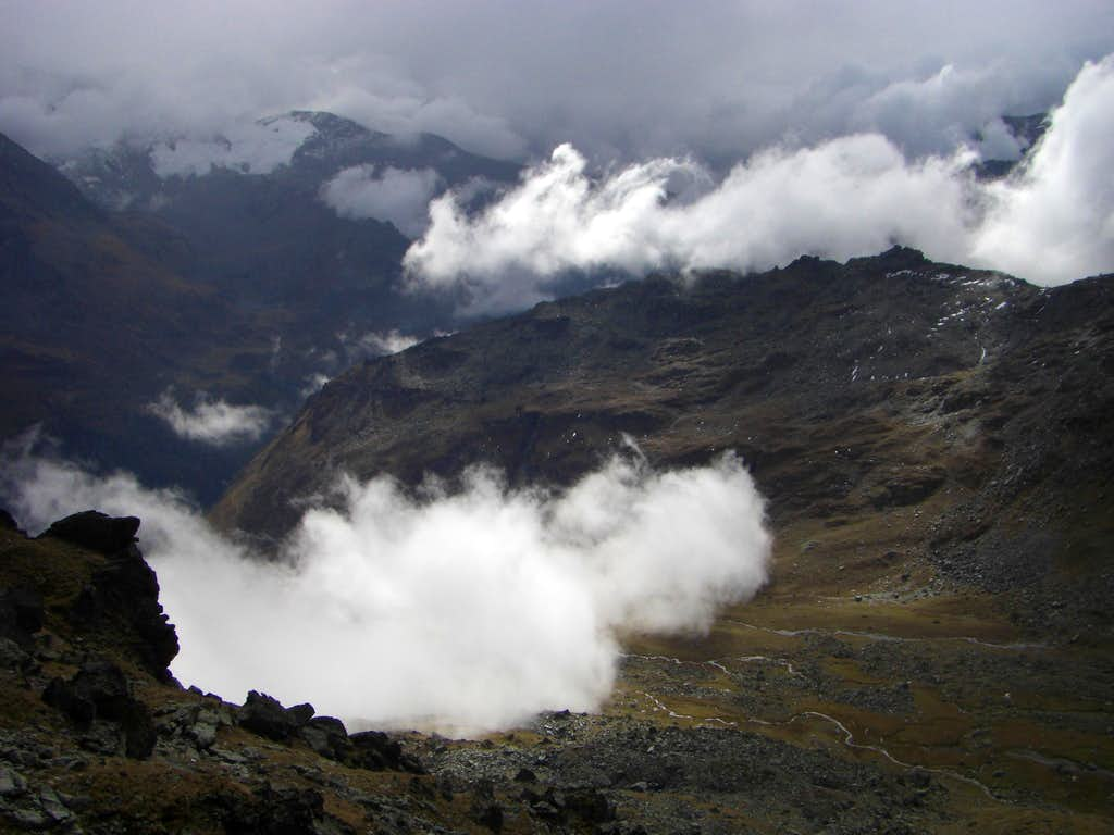 Clouds in Valgrisenche