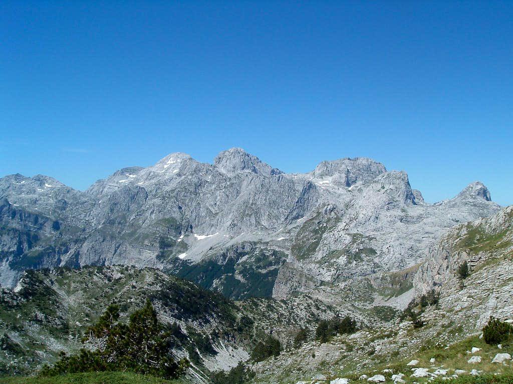 Group of Maja Radohines (2570 m)