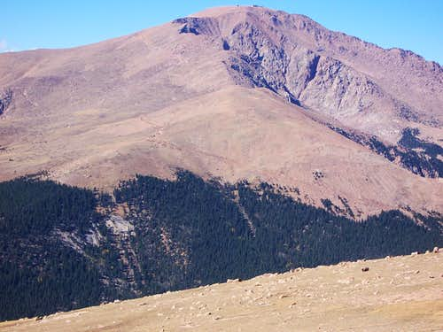 Pikes Peak from Almagre Summit
