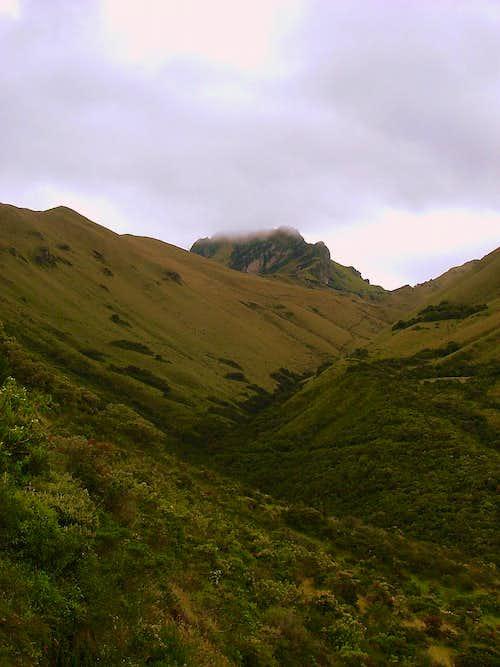 Mojanda from Cerro Negro