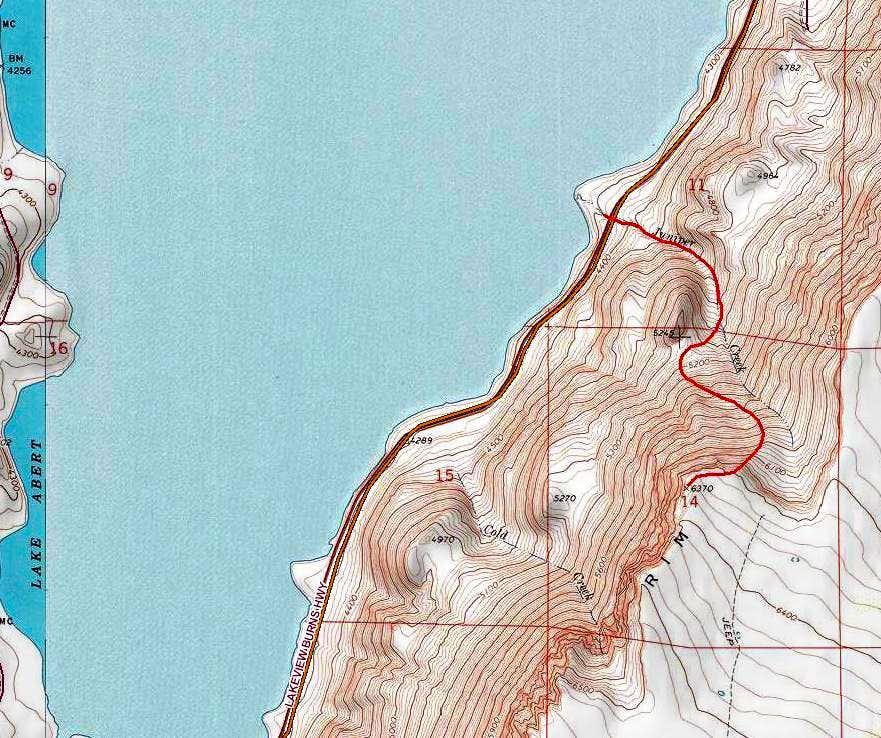 Juniper Creek Route