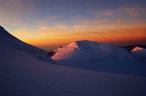 Sunrise on the Parrotspitze...