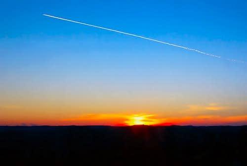 Cicarija - sunset