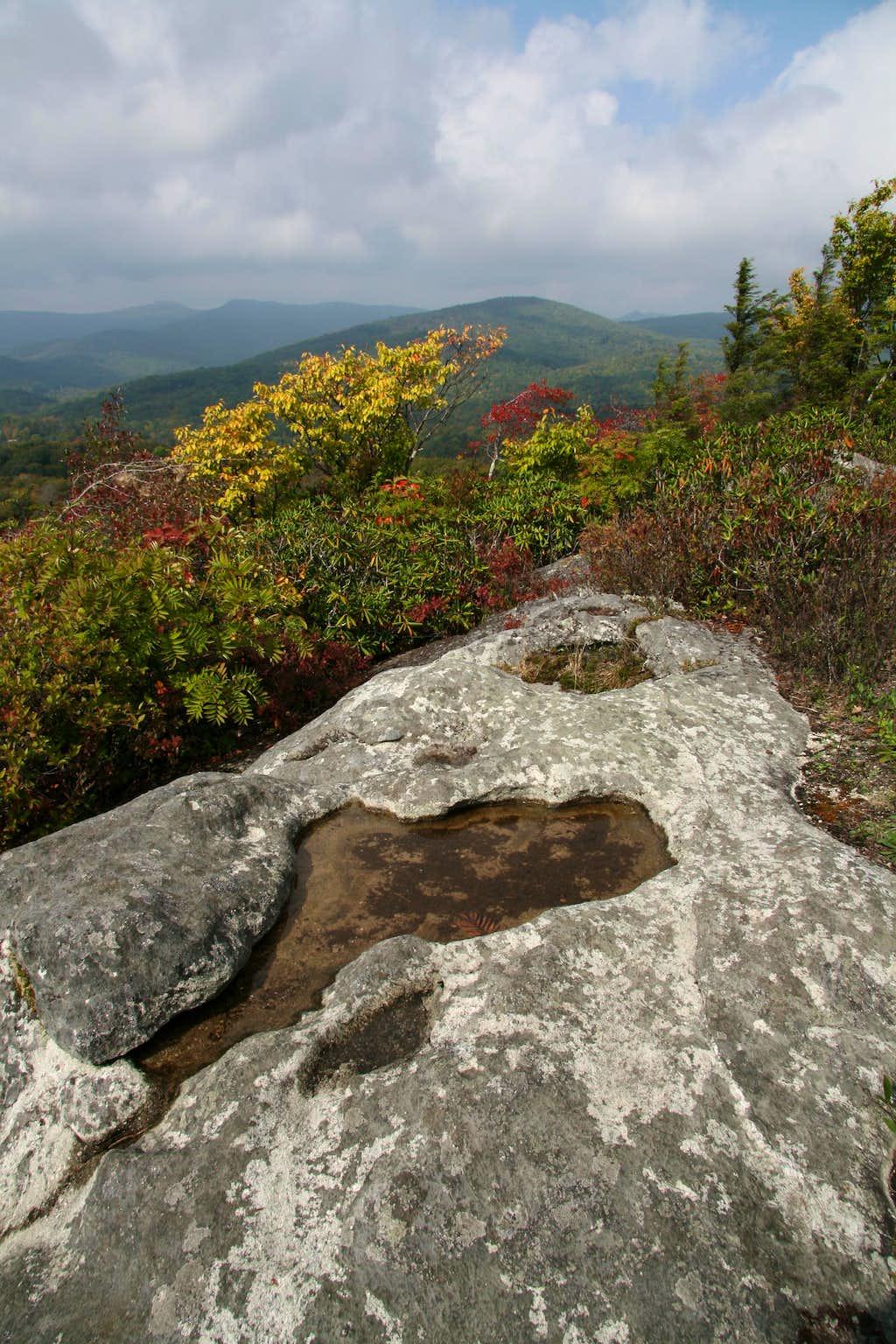 Flat Rock Summit View