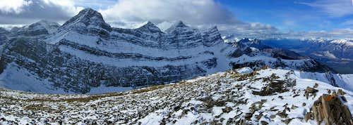 Summit partial panorama