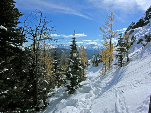 Centennial Ridge to Mount Allan
