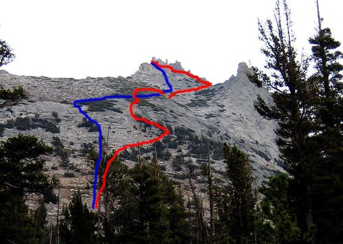 Cathedral Peak Route