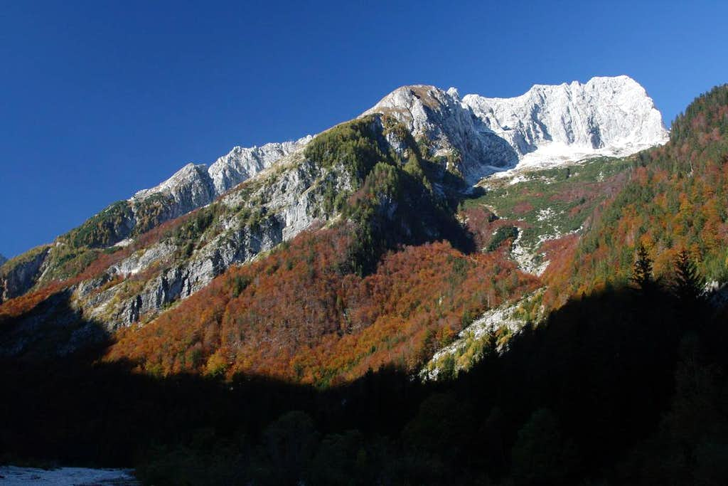 Autumn in Trenta