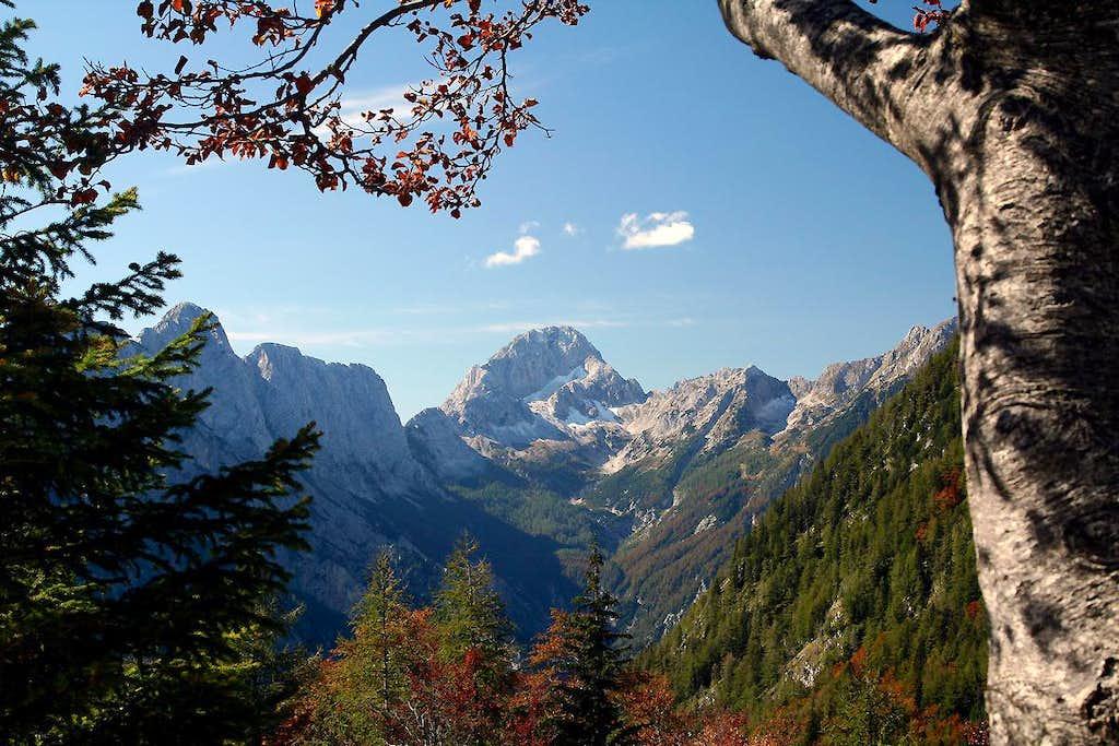 Autumn in Trenta