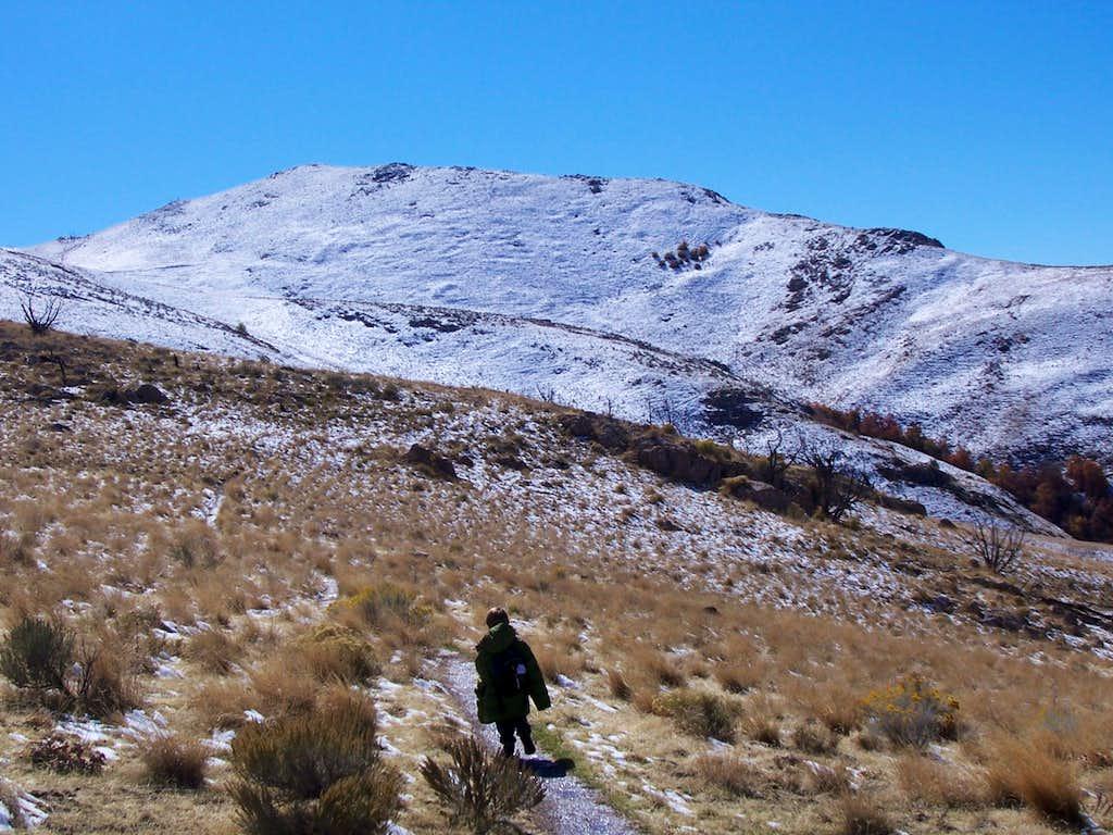 Northern ramparts of Frary Peak