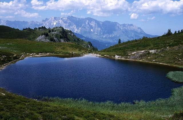 Hochkoenig massif south side...