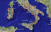 National parks in southern Italy