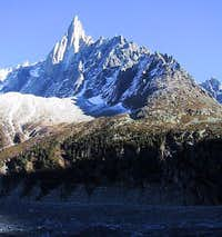 The Dru's west face with the...