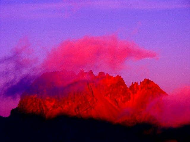 Mawenzi at daybreak from...