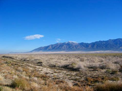 The Stansbury range