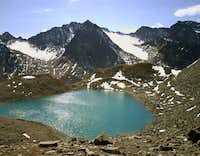 Beautiful Triebenkar lake