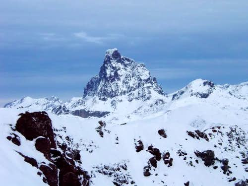 The Pic du Midi d'Ossau from...